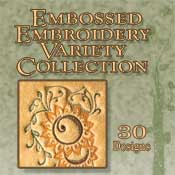 Embossed Stitches Variety Collection