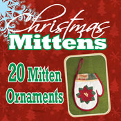 Christmas Mittens Ornaments