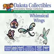 Whimsical Wings (20 4x4)