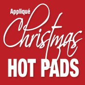 Christmas Hotpads Applique