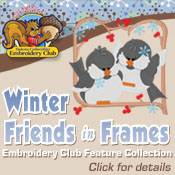 Winter Friends In Frames